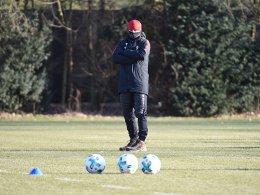 Kovac beklagt schlechte Trainingsbedingungen
