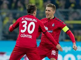 Keine Tore ohne Günter und Petersen