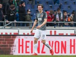 Gregoritsch trifft - und leidet mit dem HSV