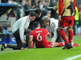 FC Bayern: Entwarnung bei Thiago