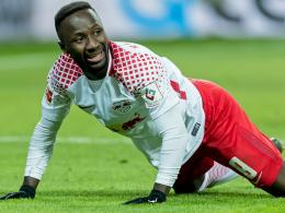 Auch Keita verletzt sich gegen Bayern