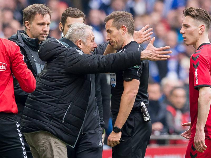 Freiburg: Streich war froh über die Länderspielpause