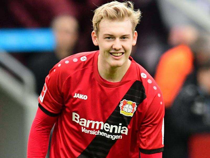 Julian Brandt hat in Leverkusen verlängert