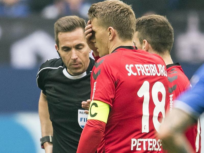 DFB-Sportgericht verhandelt Einspruch gegen Petersen-Platzverweis