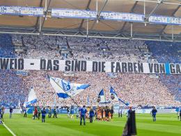 Derby-Choreo: Schalke-Fans geben 21.117,43 Euro aus