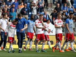 Abstiegsszenario HSV: Am Sonntag könnte es so weit sein