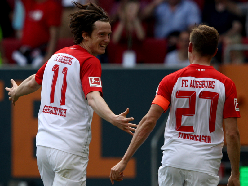Gregoritsch und Finnbogason