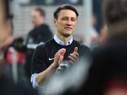 Kovac rechnet mit Applaus für das Trainerteam