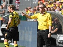 Klare Aussagen: Rode erwartet Stöger-Aus