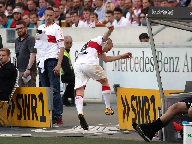 Geldstrafe für Stuttgarts Santiago Ascacibar - Sportvorstand Reschke