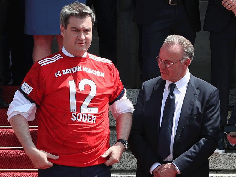 Rummenigge-Machtwort Lewandowski bleibt bei Bayern!