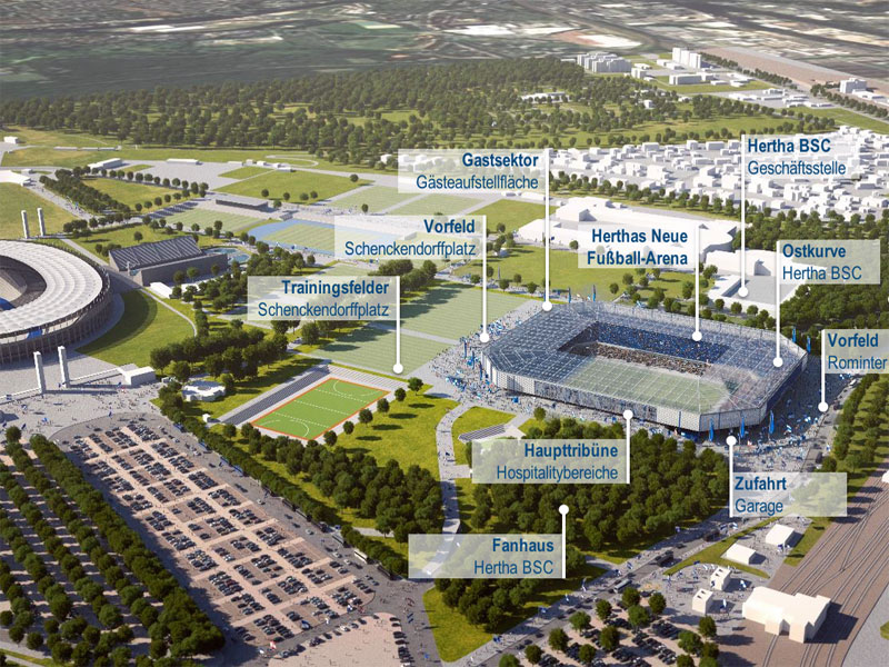 Hertha Bsc Stadion Neubau