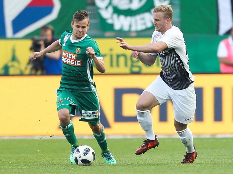 Offiziell: Louis Schaub verlässt Rapid