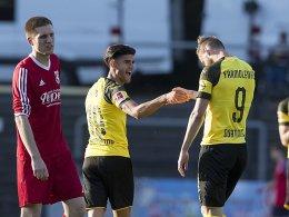 Doppel-Test: BVB dreht erst im zweiten Spiel auf