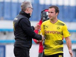 Götze kritisiert Stöger und Guardiola