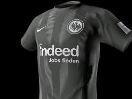 Die Eintracht präsentiert das neue Heimtrikot