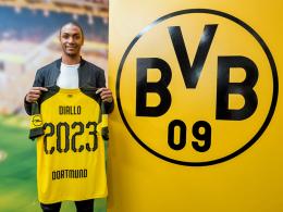 Wechsel perfekt: Diallo der zweitteuerste BVB-Neuzugang