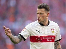 Ginczek kritisiert VfB-Führung