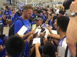 Schalke kommt gut an in China