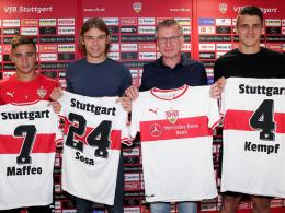 Maffeo, Sosa, Kempf - neue junge Wilde beim VfB