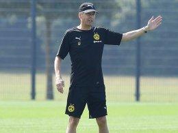 Antrittsbesuch: Favre überrascht BVB-Angestellte