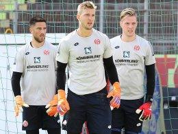 Huth, Müller, Zentner: Der Dreikampf im Tor