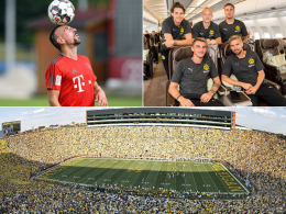 Testspiele mit Punkten: So funktioniert der International Champions Cup
