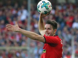 Günter auf dem Weg zur Freiburger Legende