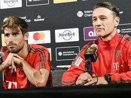 Rendezvous mit Pep: Javi Martinez fehlt Kovac