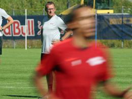 Rangnick reist mit elf Profis nach Göteborg