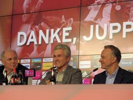 Heynckes' Trainer-Stationen in 34 Jahren