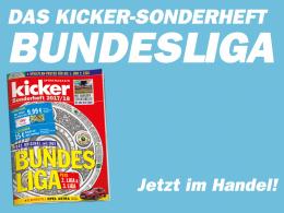 Mit großem Zweitliga-Teil: Das Bundesliga-Sonderheft