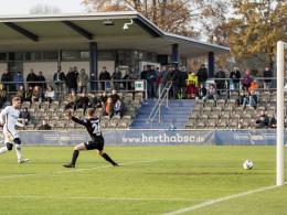 Hertha: 2:2 im Test gegen Viktoria 1889 Berlin