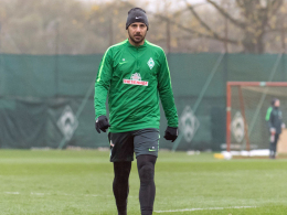 Bremens Hoffnungsträger Pizarro soll wieder trainieren