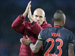Bayern ohne Vidal, Robben und Martinez in Rostow