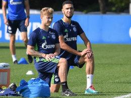 Weinzierls Sorgen um Schalker Mittelfeld-Duo