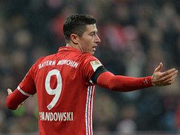 Lewandowski muss Training abbrechen