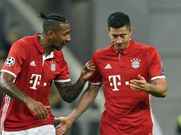 Boateng und Lewandowski sind zurück