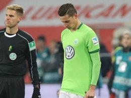 Draxler droht in Wolfsburg die Tribüne