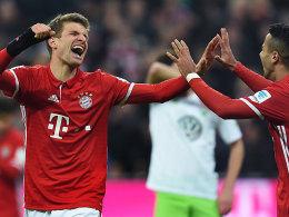 Nach 999 Minuten Flaute: Müller trifft und verliert