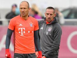 Robben und Ribery fehlen im Bayern-Training