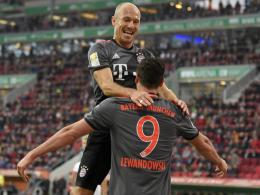 FC Bayern im Check: Schlüsselspieler Robben, Sorgenkind Alonso