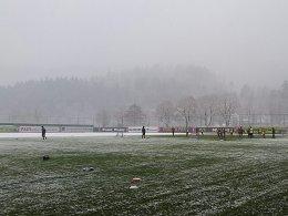 Freiburg: Jahresauftakt in Winterlandschaft