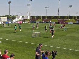 Bayern-Start in Katar: 25 Grad und ein glühender Hintern