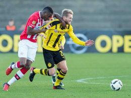 BVB besiegt die PSV: Schürrle überzeugt als Stürmer
