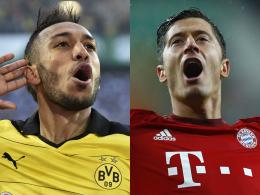 Rangliste: Aubameyang vor Lewandowski - Richtig?