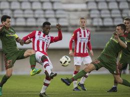 1:2 gegen Eindhoven - diesmal trifft es Stenzel