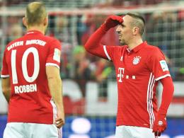 Robben und Ribery sind Ancelottis Gewinner