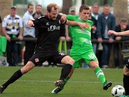 Auftaktsieg für Hecking - 2:0 gegen Würzburg