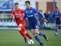 Artistik-Tor und kurioser Platzverweis bei Schalker Sieg